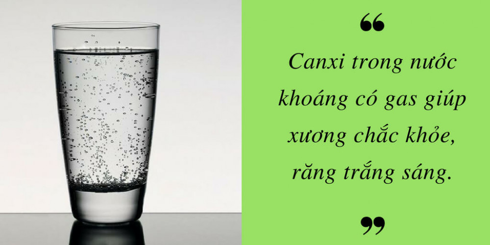 Lợi ích sức khỏe của nước khoáng có gas - 2