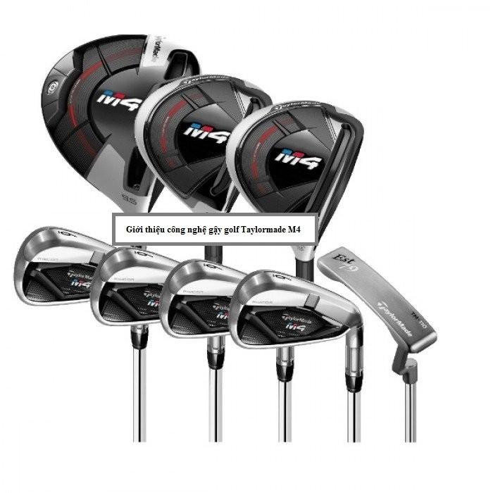 Giới thiệu công nghệ gậy golf Taylormade M4
