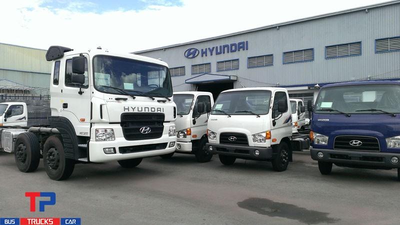 Công ty CP Ô Tô Tân Phú phân phối dòng xe tải Hyundai chính hãng Hyundai Đô Thành