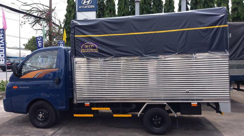 Hình ảnh Hyundai New Porter 150 thùng mui bạt, động cơ D4CB(1)