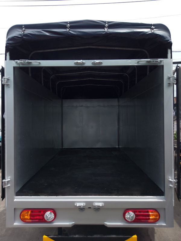 Hình ảnh Hyundai New Porter 150 thùng mui bạt, động cơ D4CB(3)