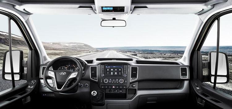 Nội thất xe Hyundai Solati 16 chổ