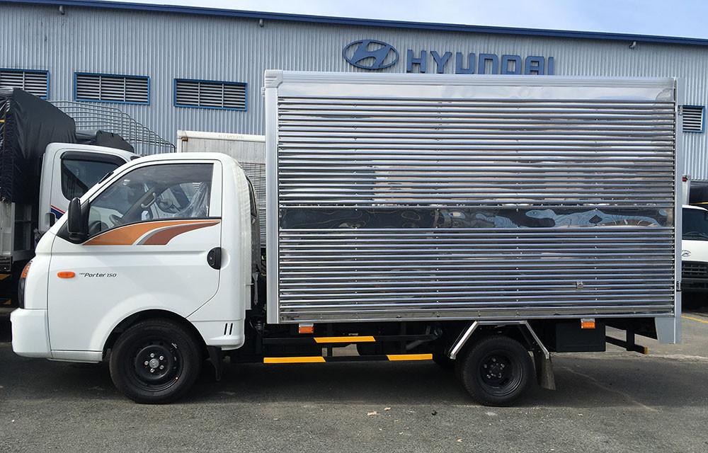 Đánh giá xe Huyndai New Porter 150 thùng kín inox chính hãng