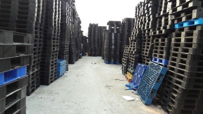 Tư vấn mua pallet nhựa cũ giá rẻ Bắc Ninh