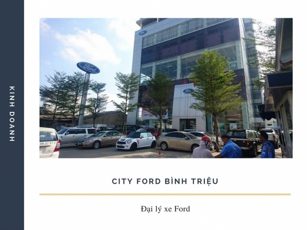 Đại lý Ford Bình Triệu