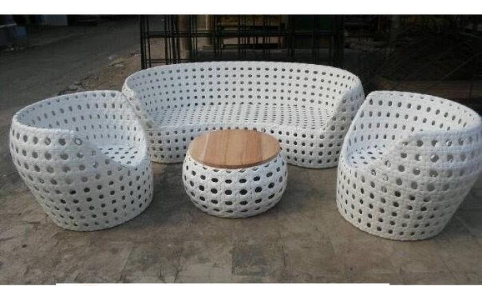 Mẫu bàn ghế Sofa cafe hình chữ Uđẹp giá rẻ tại TPHCM(1)