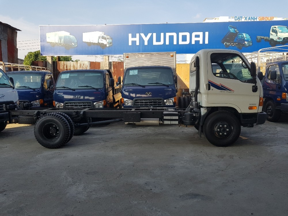 So sánh xe tải Hyundai hd800 và Hyundai HD120s 8 tấn