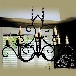 Cách chọn đèn trang trí phù hợp với diện tích không gian trong nhà(1)