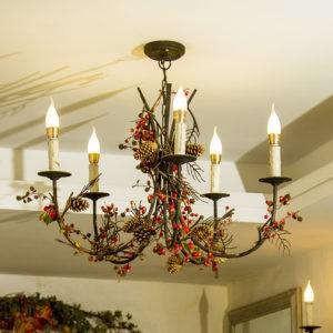Cách chọn đèn trang trí phù hợp với diện tích không gian trong nhà(3)
