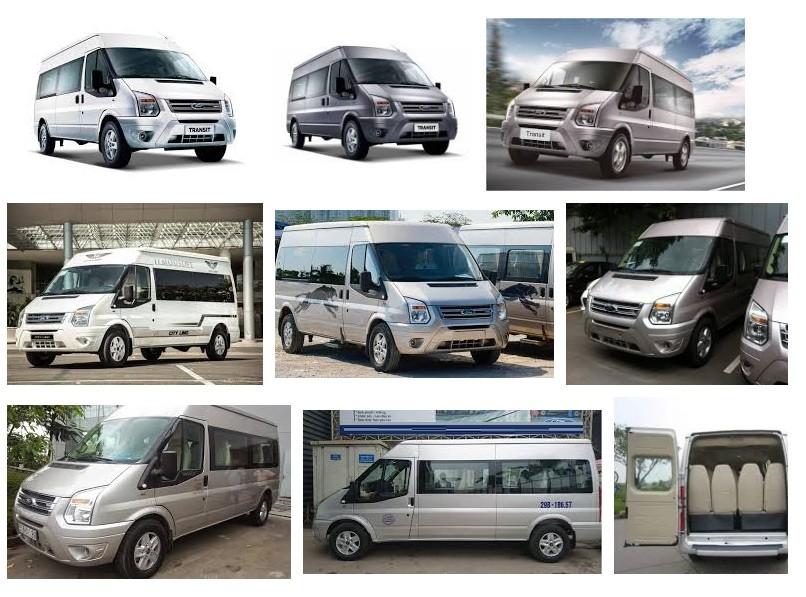Kinh nghiệm chọn mua xe Ford Transit