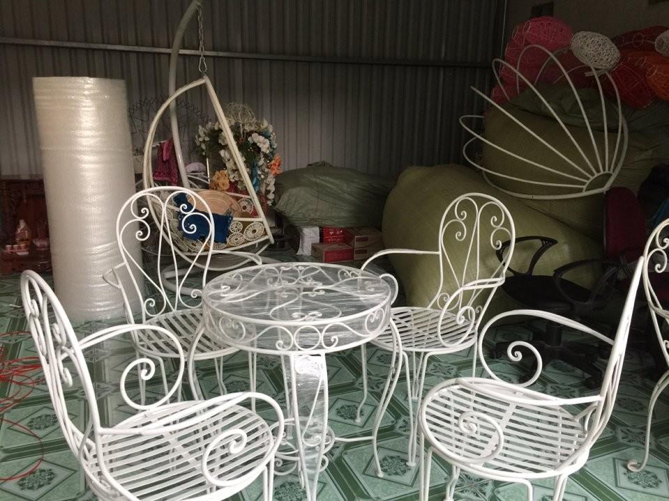 bàn ghế sân vườn đẹp, bàn ghế sân vườn giá rẻ