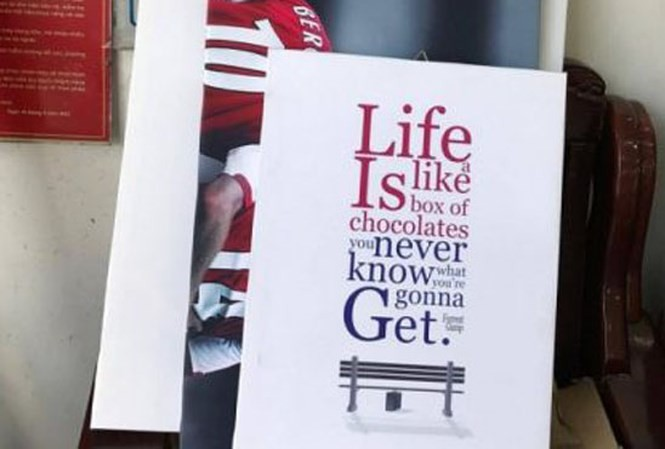 In tranh khẩu hiệu, quotes chữ hay về cuộc sống - in canvas đóng khung canvas tại In Kỹ Thuật Số