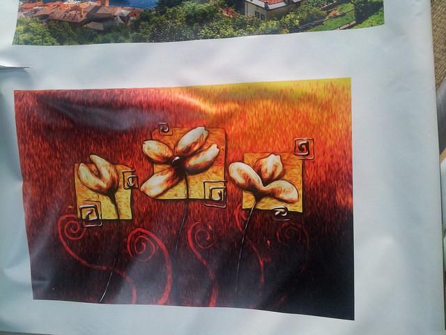 In tranh nghệ thuật phương Tây trên chất liệu canvas