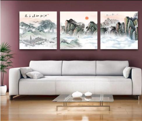 tranh bộ treo tường hiện đại 2