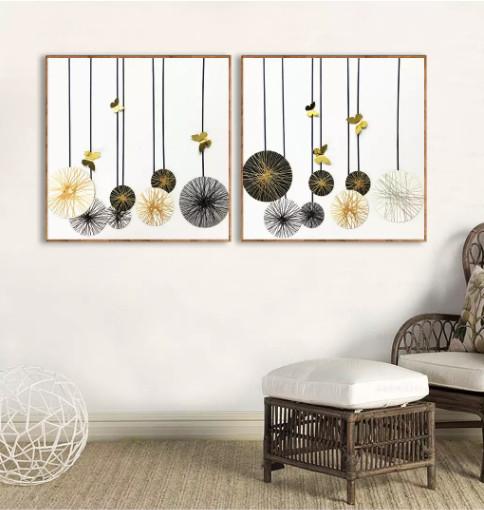 tranh treo tường phòng khách đẹp hiện đại