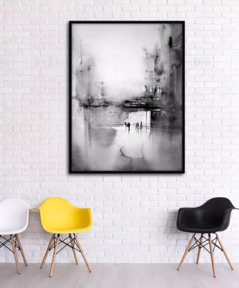 tranh treo tường phòng khách đẹp hiện đại 1