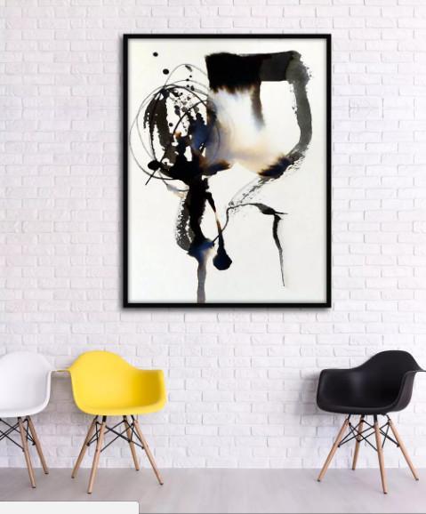 tranh sơn dầu treo phòng khách 2