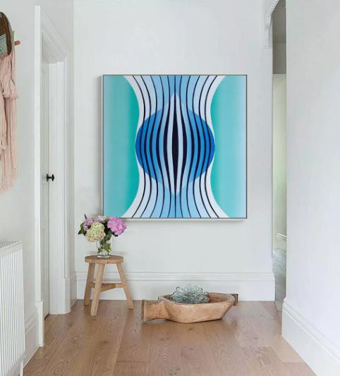 những bức tranh đẹp treo phòng khách