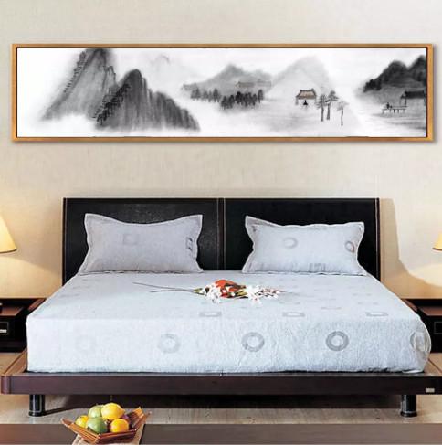 tranh sơn dầu treo phòng ngủ 3