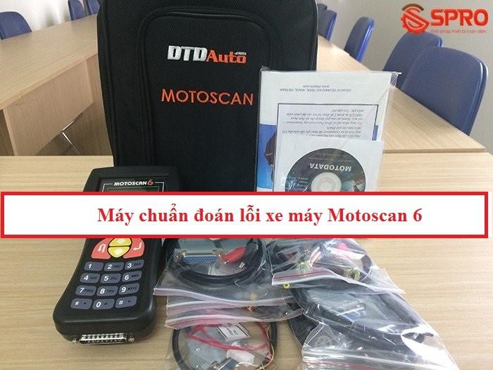 Giới thiệu máy chuẩn đoán lỗi xe máy Motoscan 6