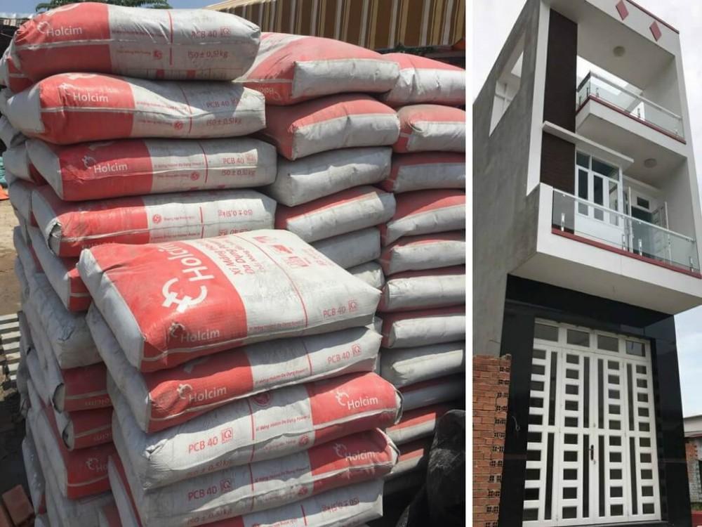 Kinh nghiệm chọn vật liệu xi măng cho công trình nhà ở