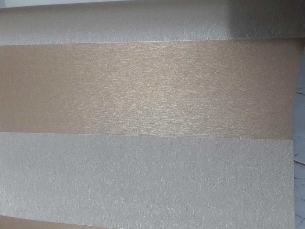 Vải dán tường sợi thủy tinh kem vàng ánh kim - sang trọng