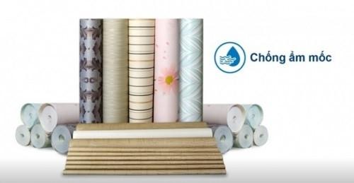vải dán tường sợi thủy tinh chống ẩm mốc hiệu quả