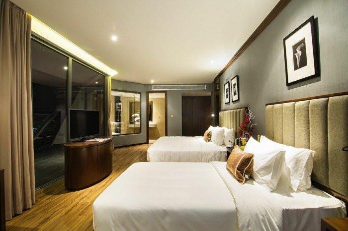 Cho đến không gian phòng ngủ ấm cúng - tạo nên sự đồng điệu trong toàn bộ không gian nhà ở