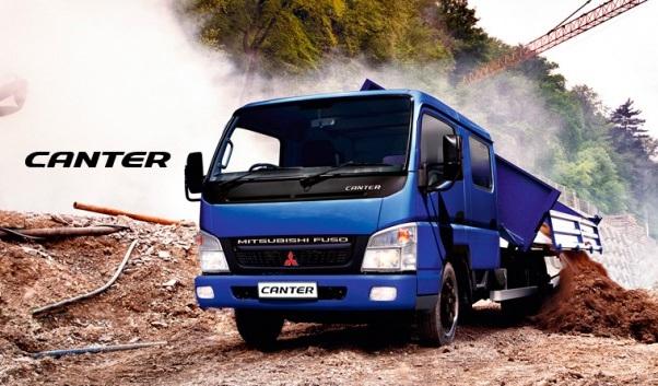 Bộ ba xe tải Mitsubishi Fuso Canter có gì đặc biệt?