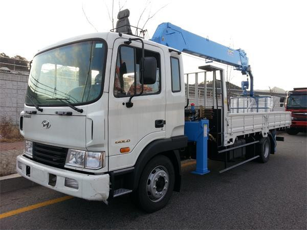 Thông số kỹ thuật xe tải Hyundai HD120 5 tấn gắn cẩu