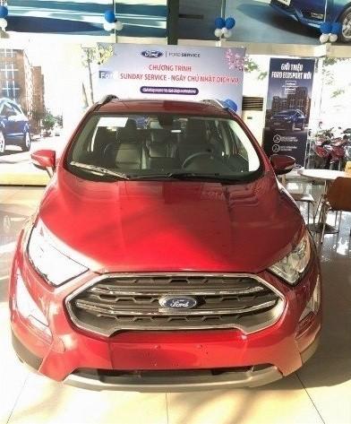 So sánh Ford Ecosport 2018 và Chevrolet Trax 2018 trong tầm giá 700 triệu