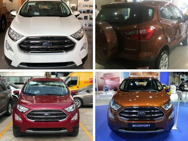 Giá xe Ford Ecosport 2018 lăn bánh