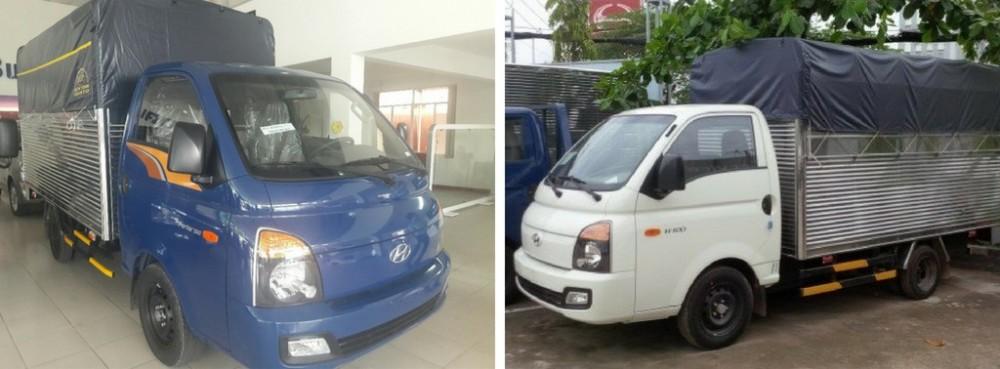 So sánh xe tải H150 và H100