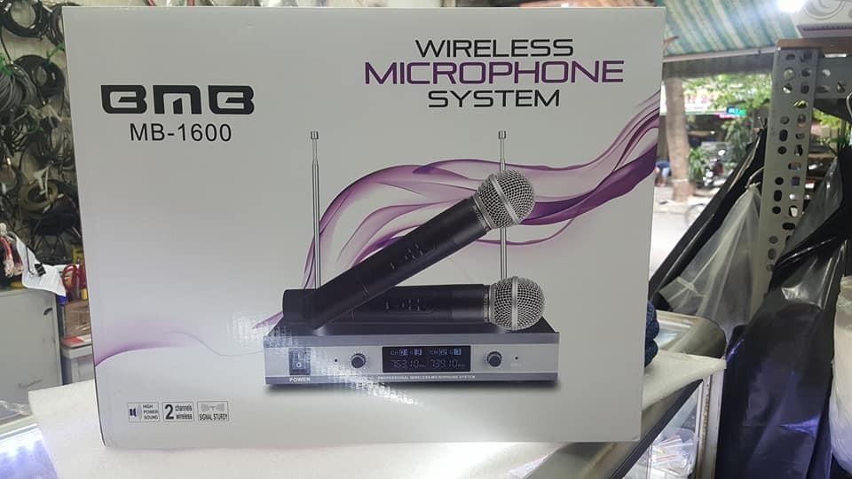 Đánh giá Micro không dây BMB 1600