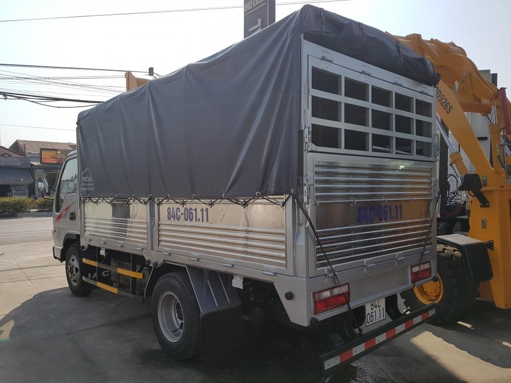 Thông số kỹ thuật xe tải JAC 2,4 tấn - Thùng dài 3,7 mét