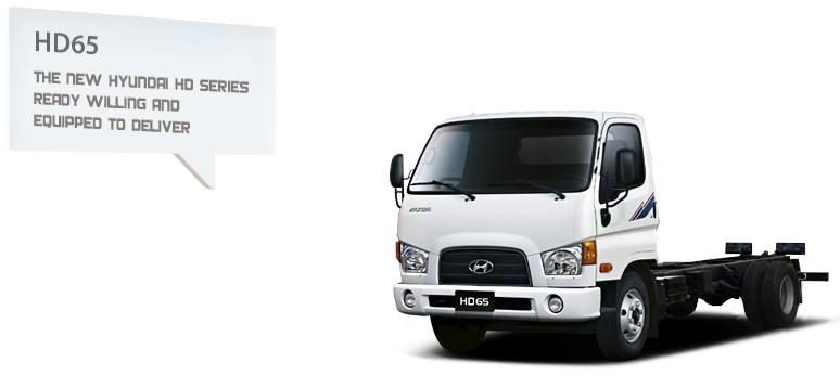 Xe tải Hyundai HD65 2.5 tấn Hyundai Đô Thành