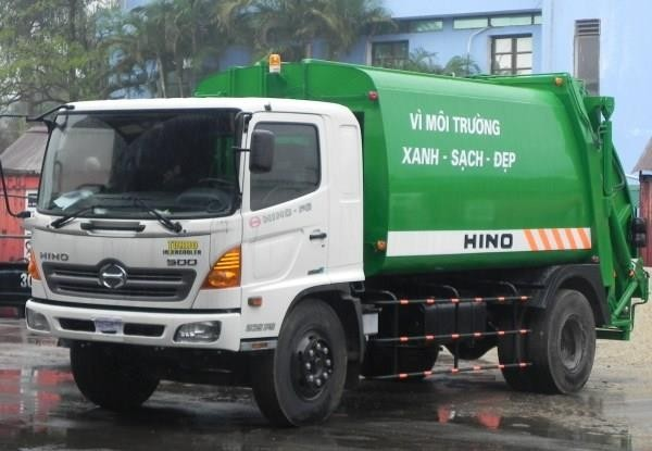 Thủ tục liên quan khi mua xe cuốn ép rác Hino 6 khối (6m3) Hino WU342L
