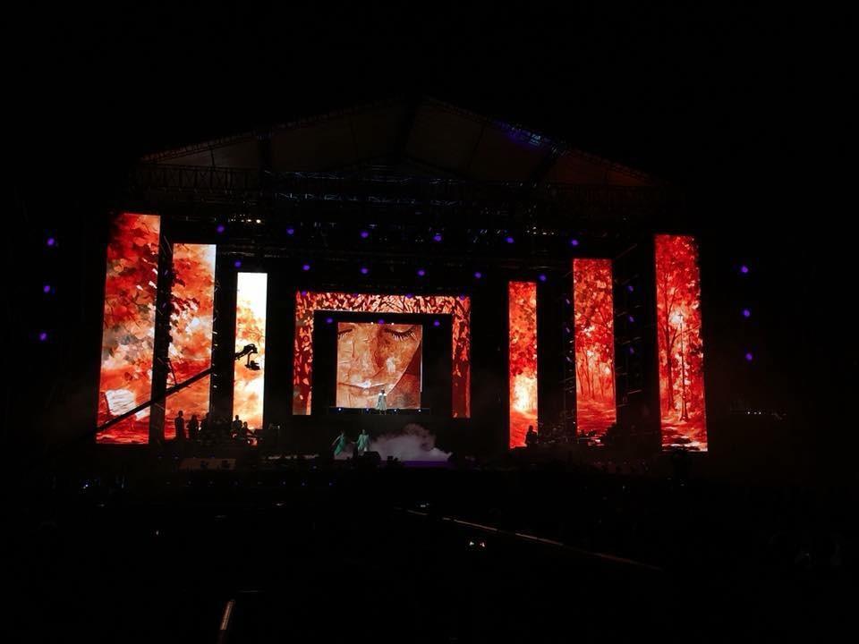 Cho thuê màn hình Led sân khấu ngoài trời tại Sân Vận Động Quân Khu 7 TPHCM