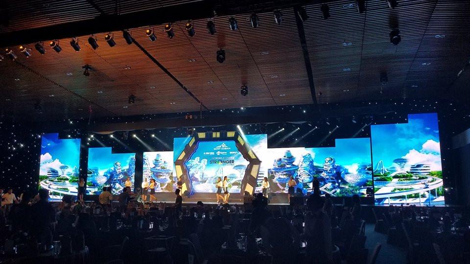 Màn hình led P3 Full HD với tổng diện tích thuê màn hình Led lớn