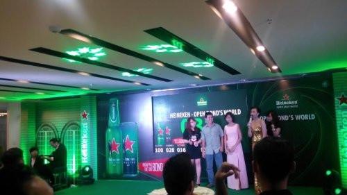 Cho thuê màn hình Led P3 - Sự kiện Spectre – Heineken Spectre Premier Night
