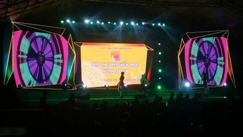 Cho thuê màn hình Led P3 - Sự kiện Bán hàng Gunla