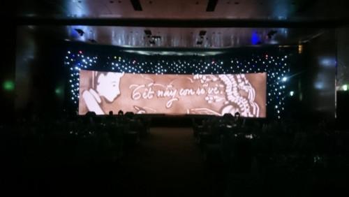Cho thuê màn hình Led P3 cong - Tiệc tất niên Công ty BAT - tại Khách sạn Intercontinental, Q1