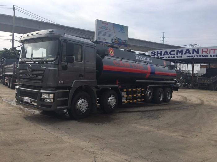 Đánh giá xe bồn chở xăng Shacman