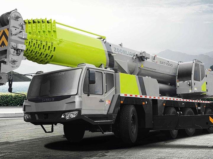 xe cẩu 110 tấn hãng Zoomlion