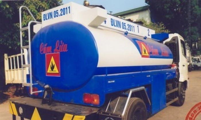 Xe bồn chở xăng dầu giá bao nhiêu?