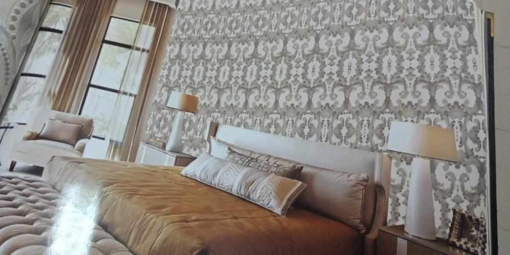 Có nên dùng vải dán tường để trang trí tường nhà?