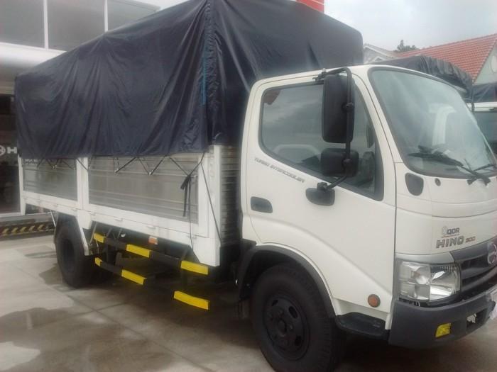 Đánh giá xe tải Hino Nhật Bản mui phủ bạt 6.4 tấn FC9JLSW
