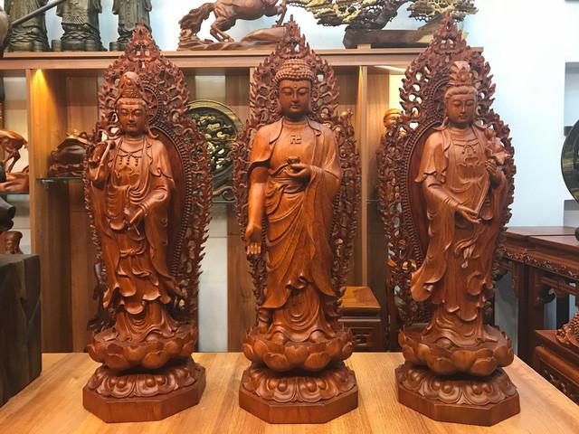 Những cách lựa chọn khi sử dụng tượng gỗ trong trang trí nội thất