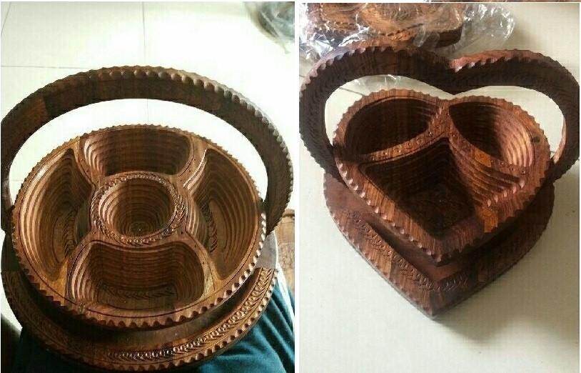 Mẫu khay gỗ đựng bánh biến hình độc đáo(1)