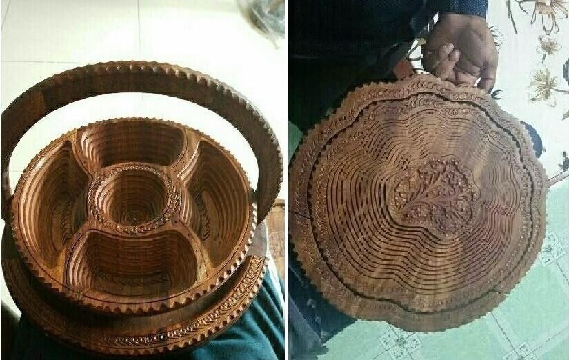 Mẫu khay gỗ đựng bánh biến hình độc đáo(3)